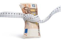 Money diet Stock Photo