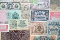 Money of the different countries. Stock Images