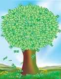 Money Does Not Grow on Trees Stock Photos