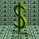 Money-Dollar Stock Image