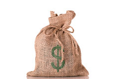 Money Dollar Bag Stock Photography