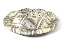 Money Dollar Pie Perspective Royalty Free Stock Images