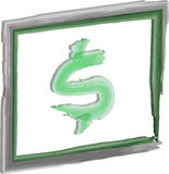Money dollar sign Stock Images
