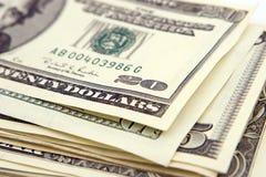 Money-Dollars Stock Photography