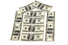 Money dollars Royalty Free Stock Photos