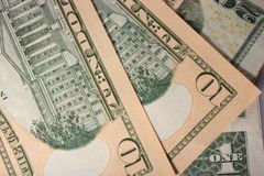The money  dollars Stock Image