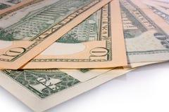 The money  dollars Stock Photography