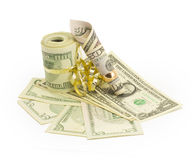 Money, dollars Royalty Free Stock Photos