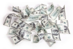 Money Dollars background Stock Images
