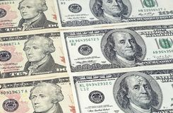 Money dollars Stock Photography