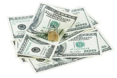 Money dollars and lock Stock Images