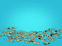 Money dollars vector background Stock Images