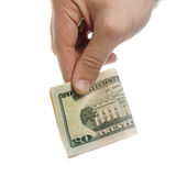 Money Donation Stock Photography