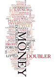 Money Doubler Madness Text Background  Word Cloud Concept Royalty Free Stock Photo