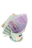 Money Down The Drain Stock Image