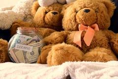 Money dreams, original idea Stock Image