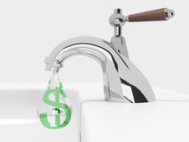 Money drips Royalty Free Stock Photography