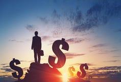 Money earning concept Stock Photo