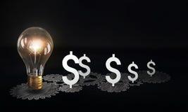 Money earning mechanism Stock Photography
