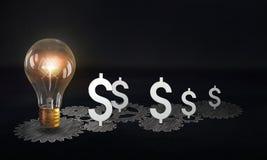 Money earning mechanism Royalty Free Stock Photos