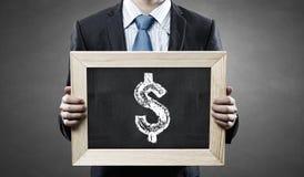 Money earning Stock Image