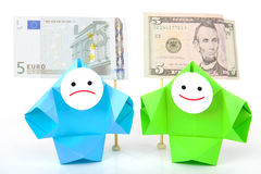 Money, earnings, and economy metaphor Stock Photo