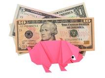 Money, earnings, and economy metaphor Stock Photo