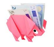 Money, earnings, and economy metaphor Stock Images