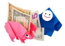 Money, earnings, and economy metaphor Stock Photography