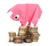 Money, earnings, and economy metaphor Royalty Free Stock Photos