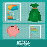 Money, economy, business and savings. Royalty Free Stock Images