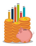 Money, economy, business and savings. Stock Images