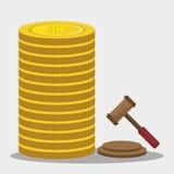 Money, economy, business and savings. Stock Image