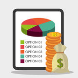 Money, economy, business and savings. Royalty Free Stock Photos