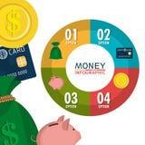 Money, economy, business and savings. Stock Photo