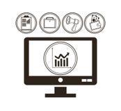Money economy and commerce design Royalty Free Stock Photos