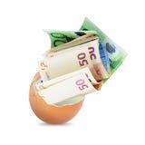 Money egg Royalty Free Stock Photos