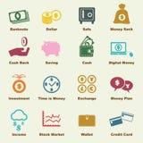 Money elements Stock Image