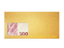 Money in envelop Royalty Free Stock Photography