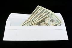 Money in envelope Royalty Free Stock Photos