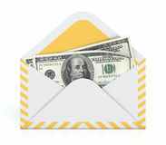 Money In Envelope Stock Images