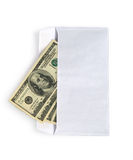 Money in envelope Stock Photo