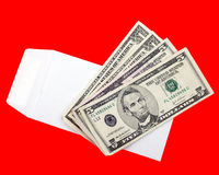 Money Envelope Stock Photography