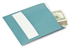Money envelope Stock Images