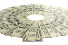 Money epicentre. Business topic Stock Photo