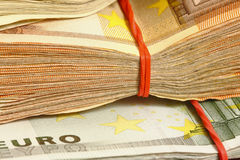 Money euro Stock Photo