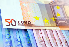 The money euro Royalty Free Stock Photo