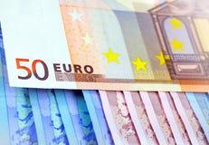 The money euro Royalty Free Stock Photo