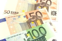 Money euro Stock Photos