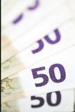 Money euro Royalty Free Stock Photos
